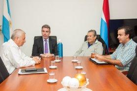 Repasaron obras viales para el departamento Uruguay