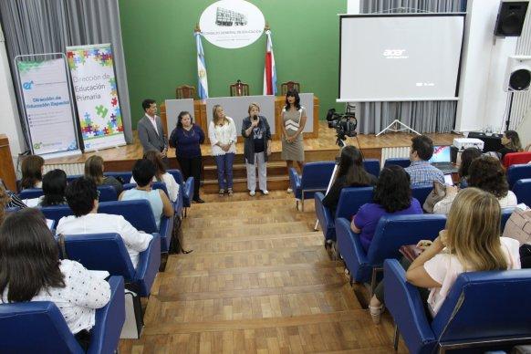 Encuentro de supervisores de Nivel Primario y de Educación Especial en el CGE