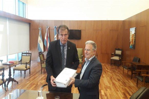 Se entregó el proyecto para un nuevo edificio de Tribunales en Feliciano
