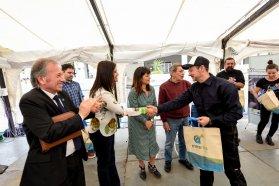 Artistas locales y extranjeros crearán esculturas en el Centro de Convenciones