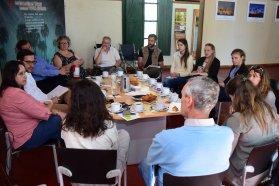 Retoman la gestión conjunta del sitio Ramsar Palmar Yatay