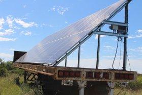 En San Salvador comienzan a producir energía para riego con paneles fotovoltaicos