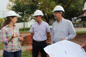 Recorren y monitorean obras de gas en Cerrito y Tabossi