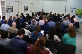 Ambiente provincial reunió a más de 100 personas en una charla sobre reutilización de efluentes