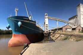 Siete ultramarinos han concretado carga en el puerto uruguayense en lo que va del año