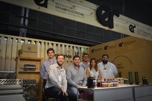 Emprendimientos entrerrianos participaron de la Feria Internacional de la Alimentación