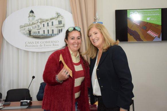 Se entregaron las llaves de 20 viviendas en la Colonia Productiva Guardamonte