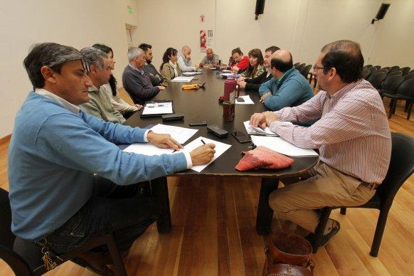 Se desarrolló una nueva reunión de paritaria de infraestructura en Villaguay