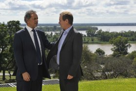 Bordet analizó con Scioli la situación del país y la construcción de una alternativa