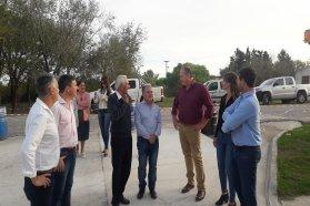 Avanza la pavimentación y mejoras en el Centro de Salud Teniente Ibáñez de Villa Urquiza