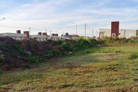 Comenzaron las obras de protección del Barrio 100 viviendas en San José