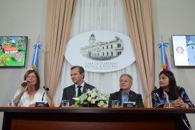 Se presentó el Museo Provincial Hogar Escuela Eva Perón
