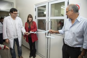 Inauguraron obras y presentaron nuevos equipamientos en el hospital San Martín de Paraná