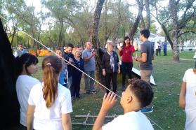 Iniciaron los campamentos educativos en la provincia