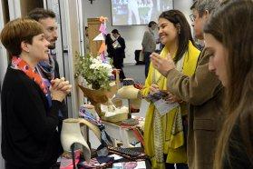 Emprendedores de la Economía Social expusieron en la 7º Ronda de Negocios