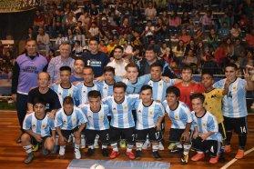 El gobierno provincial acompañó la presentación del Seleccionado Argentino de Talla Baja