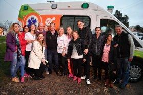 La provincia entregó dos nuevas ambulancias y Bordet destacó el trabajo conjunto con todos los intendentes