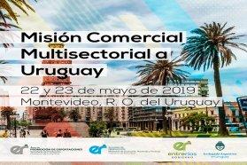 Entre Ríos mostrará su oferta exportable en una nueva Misión Comercial Multisectorial Uruguay