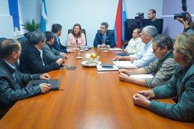 Firmaron un convenio para mejorar el ingreso a Aldea Brasilera, en el departamento Diamante
