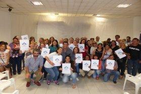 Se otorgarán más de 90 escrituras de viviendas sociales en Rosario del Tala y Maciá