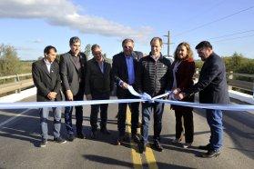 El gobernador inauguró el acceso a San Justo realizado con fondos provinciales