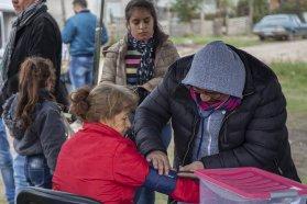 Realizaron una jornada de salud integral en Paraná