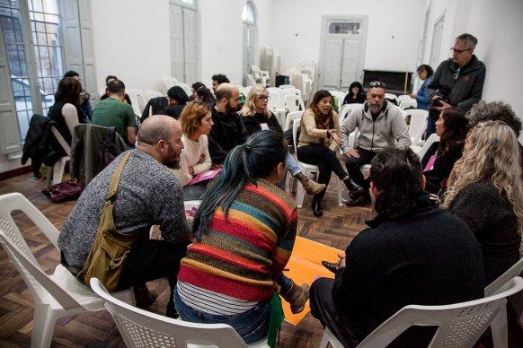 Se desarrollan espacios de reflexión en el marco del Encuentro Entrerriano de Teatro