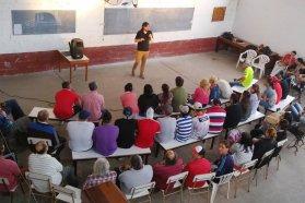 Más del 70 por ciento de las personas alojadas en las Unidades Penales concurre a espacios educativos