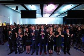 Bordet instó a la unión nacional para resolver los problemas de Argentina