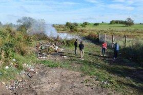 La provincia asesora técnicamente a la junta de gobierno de Etchevehere para la disposición adecuada de los residuos