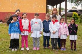 La provincia mejora el camino de la escuela rural de Arroyo Corralitos