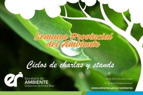 Entre Ríos se prepara para vivir la semana del ambiente