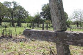 La provincia trabaja en la puesta en valor del cementerio de los negros en Ingeniero Sajaroff