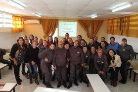 Se realizó el primer encuentro de sensibilización con las agentes penitenciarias de la unidad penal Nº6 de Paraná