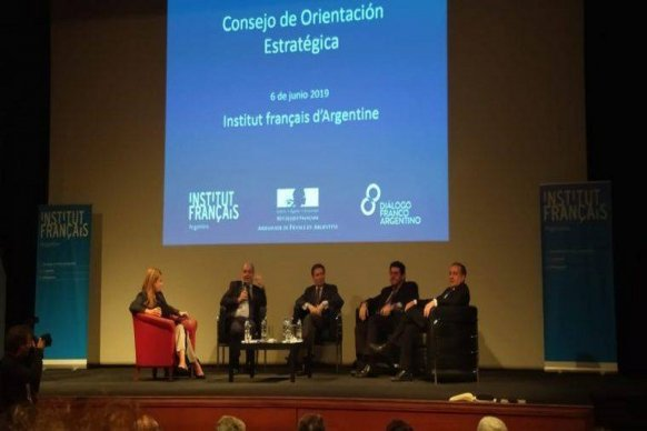 Entre Ríos participó del Tercer Consejo de Orientación estratégica de cooperación y Acción Cultural Franco-Argentina