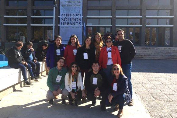Entre Ríos participó del II Congreso Internacional de Gestión de Residuos que se realizó en San Juan