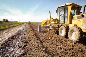 Con fondos propios la Provincia pavimenta la ruta 51 desde Larroque a Parera, en Gualeguaychú
