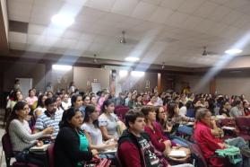 Más de 120 docentes participaron de una charla  sobre trasplante y donación de órganos en Federal