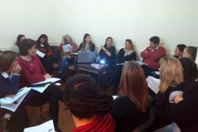 Municipios y organizaciones participaron de jornadas de formación en políticas de género