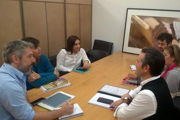 Producción avanza sobre proyectos de Ordenamiento Territorial