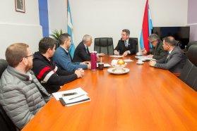 Acuerdan agenda de obras viales para Concepción del Uruguay