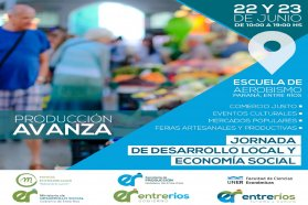 Más de 40 emprendedores participarán de las terceras jornadas de Desarrollo Local y Economía Social