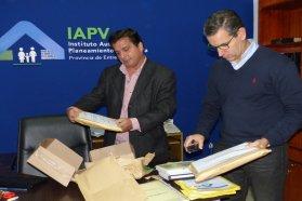 Se licitaron viviendas para Tabossi y Valle María