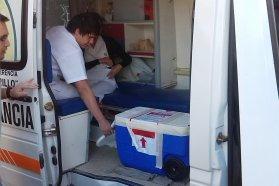 Se realizó en el Hospital San Martín de Paraná una nueva donación de órganos y tejidos