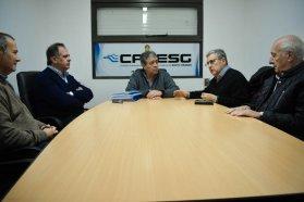 Entregan a la Comisión Técnica Mixta proyectos de defensas costeras aguas arriba de la represa de Salto Grande