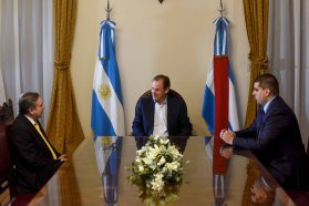 Bordet y el cónsul uruguayo en Paraná abordaron una agenda de integración regional
