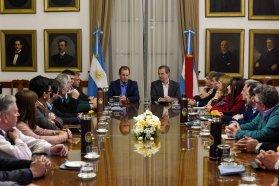 Bordet recibió a los intendentes electos de Cambiemos para trabajar en conjunto