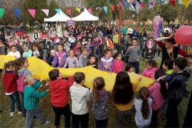 Unas 2500 personas disfrutaron del Camión Viajero Infantil
