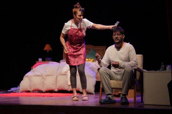 Pablo Rago y Miriam Lanzoni actuaron en La Vieja Usina frente a 1000 espectadores
