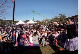 San Salvador, Nueva Escocia y Federación disfrutaron del Camión Viajero Infantil